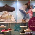 まるでレザー!クロックス2014秋冬新作の新素材カラーライトの靴を見てきた