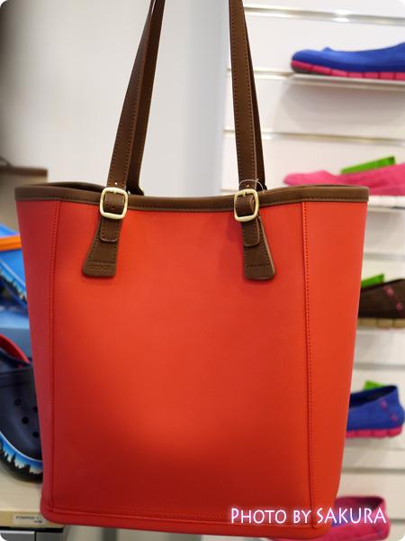 crocs クロックス wrap ColorLite bag ラップ カラーライト バッグ pepper(赤)