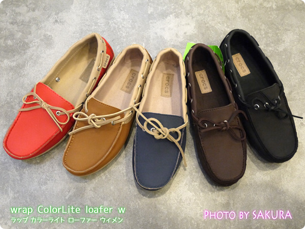 wrap ColorLite loafer w ラップ カラーライト ローファー ウィメン カラー展開