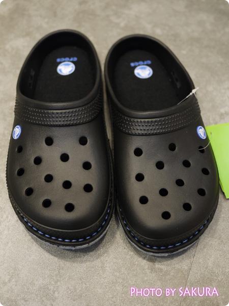 crocslodge slipper クロックスロッジ スリッパ black(黒)