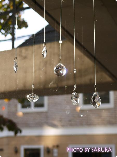 FELISSIMO フェリシモ チェコの職人が作ったシャンデリア ボヘミアガラスのインテリアルースの会 太陽光をあてて運気アップ