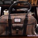1泊2日旅行や出張にも!ハリスツイードのボストンバッグがオシャレで素敵