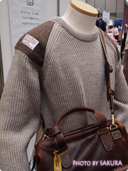 英国ブランドPeregrine/ペレグリン/英国製オックスフォードクルーネックセーター