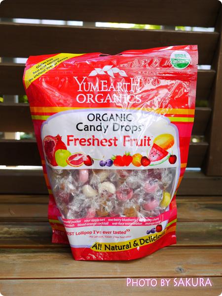 Yummy Earth, ヤミーアース, オーガニック キャンディドロップス, フレッシュフルーツ, 13 oz (369 g)