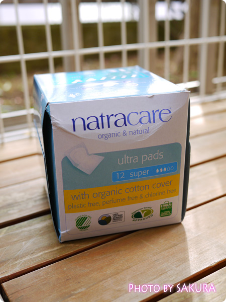 アイハーブ iHerb Natracare, Ultra Pads, Organic Cotton Cover, Super, 12 Pads