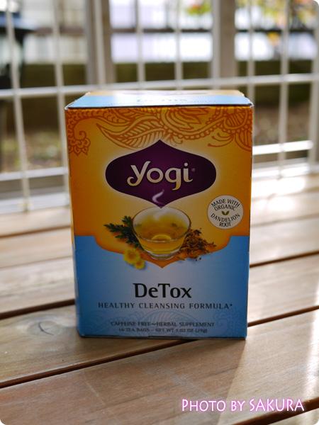 iHerb アイハーブ Yogi Tea, Detox, Caffeine Free, 16 Tea Bags, 1.02 oz (29 g)