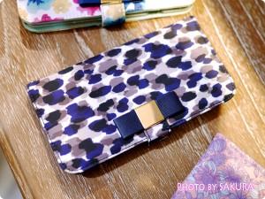 LB ドット iPhoneケース iPhone6 ネイビー
