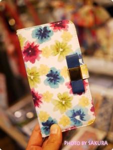 LB ガーデンiPhoneケース iPhone6 ホワイト