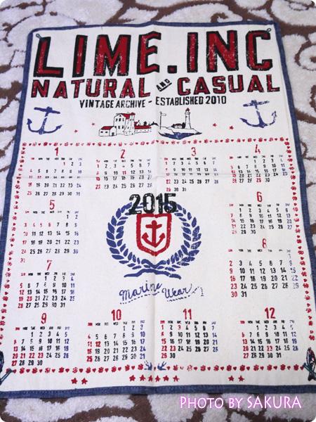 【福袋2015】LIME.INCライム福袋2015 小物 カレンダー