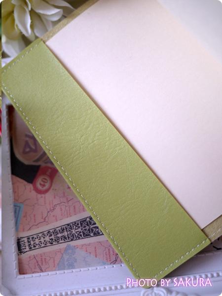 『ほぼ日手帳』オリジナルカバー 100円均一 文庫カバー 折り返し部分はちょっと幅が細いけど。