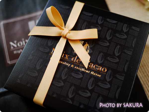 noix de cacao ノワ・ド・カカオ リッシュショコラ 5個入り パッケージ