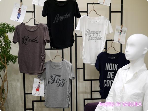 セシール and moi Tシャツ