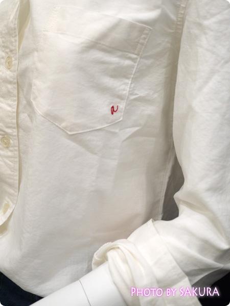 セシール and moi 2015年Vol.2(夏号)掲載 シャツ(運命の一枚) オフホワイト
