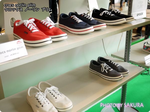 crocs norlin plim クロックス ノーリン プリム 紐靴 5色カラー展開