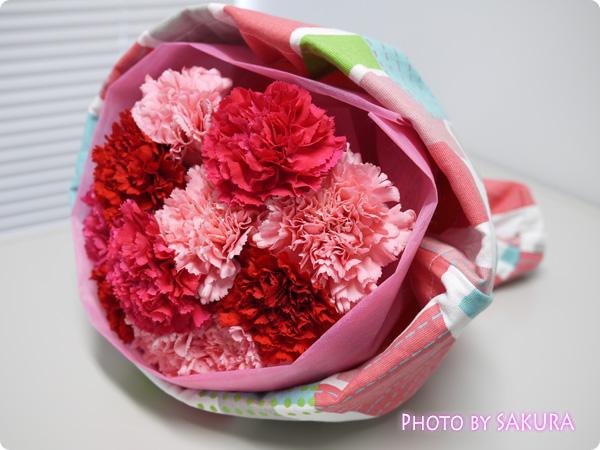 トートバッグブーケ「プロムナード」 花束全体