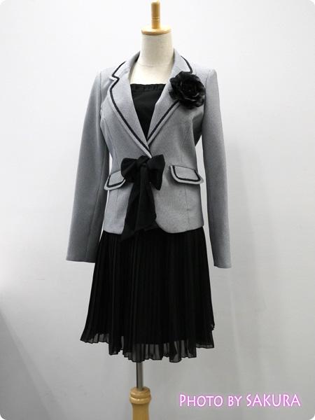 ニッセン 卒業式・入学式(卒園式・入園式) 異素材スーツ 全身