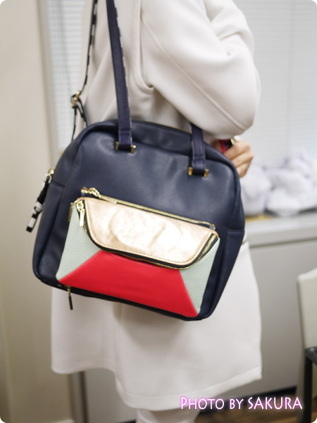 IS4IC(アイエスフォーアイシー)『Over A Mirror Rucksack』ショルダーバッグ