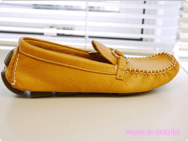 No.37835 バスクラフト カラーオーダー 定番ドライビングシューズ(レディース) ソールはぺちゃんこローヒール靴