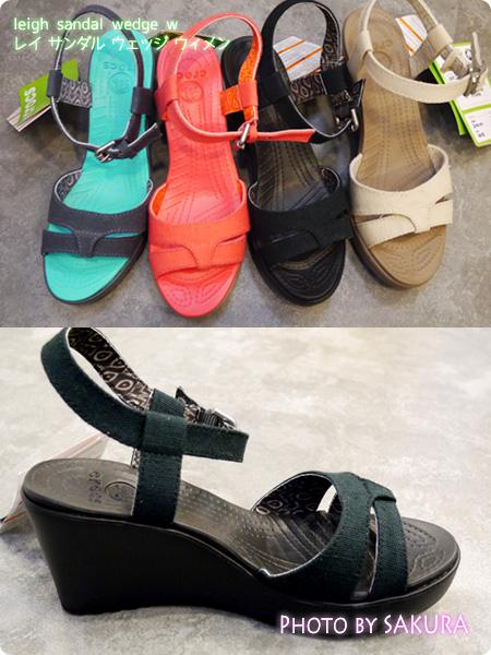 leigh sandal wedge w レイ サンダル ウェッジ ウィメン