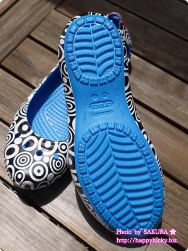 クロックス (crocs)MONDO(モンド)コレクション kadee mondo circles flat w カディ モンド サークル フラット ウィメン アウトソール 靴底