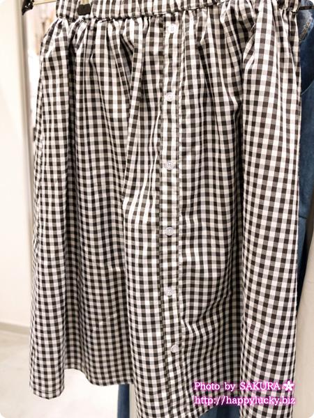 人気ファッション通販fifth(フィフス)ギンガムスカート