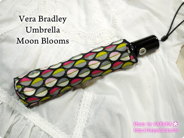 Vera Bradley ヴェラブラッドリー Umbrella 折り畳み傘  Moon Blooms