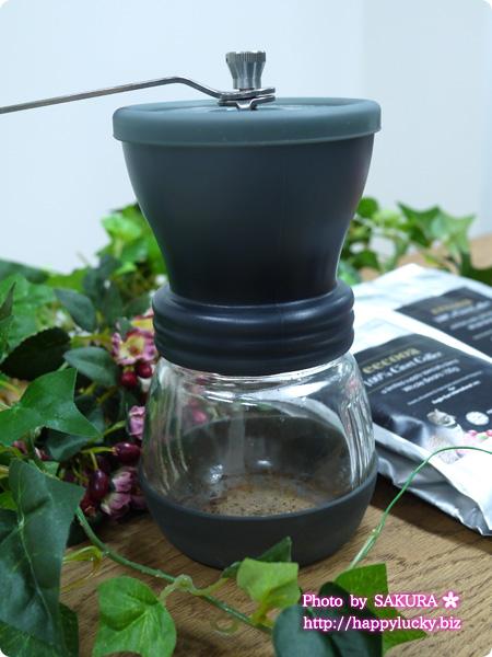 ハリオ セラミックコーヒーミル・スケルトン