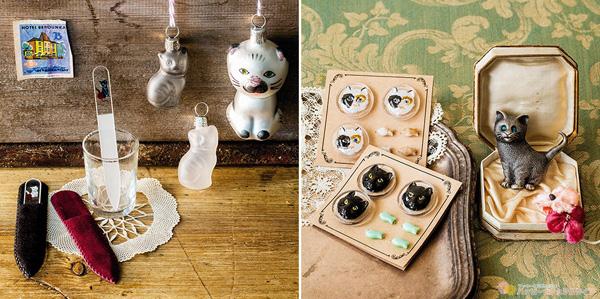 フェリシモ 猫部 【NEW】チェコからやってきた 猫まみれ雑貨コレクションの会(12回予約コレクション) 画像