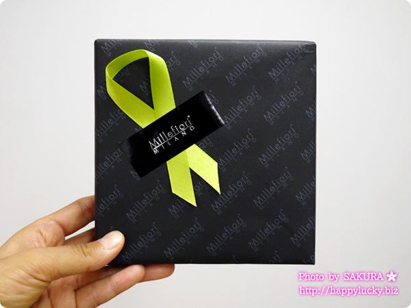 Millefiori(ミッレフィオーリ)オリジナル包装紙での無料ギフト包装