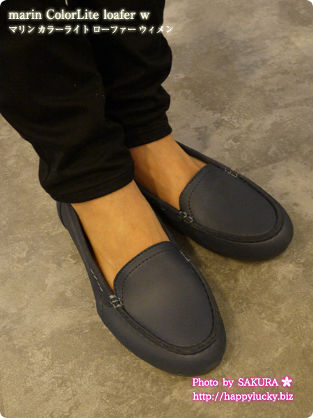 crocs クロックス marin ColorLite loafer w マリン カラーライト ローファー ウィメン 着画