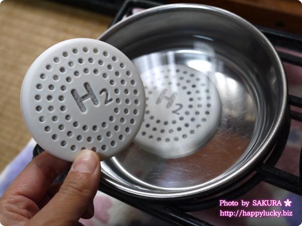 ドクター水素水ペット 水素発生スティックと水素維持盤を使っています