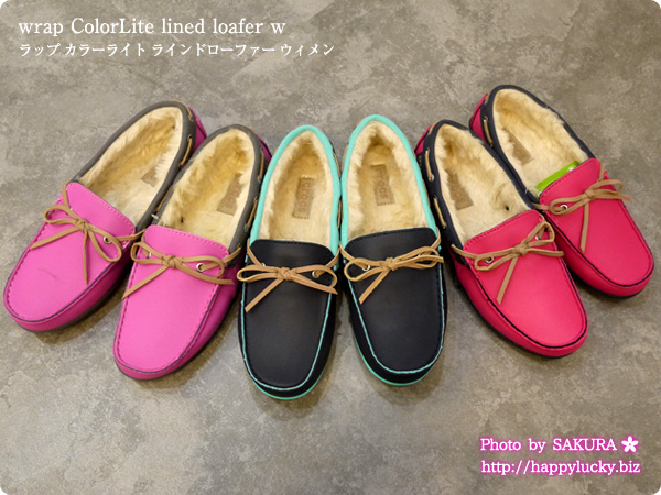 crocs クロックス wrap ColorLite lined loafer w ラップ カラーライト ラインドローファー ウィメン 全3種類