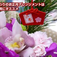 日比谷花壇こだわりのお正月アレンジメントはお年賀やご自宅用にオススメ