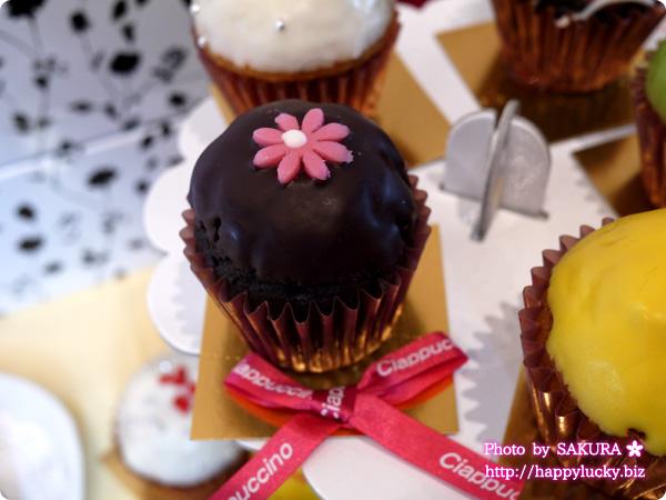 チャプチーノ パーティーセットmini~ベイクドカップケーキ~ Wチョコ アップ