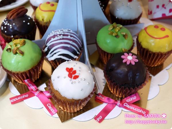 チャプチーノ パーティーセットmini~ベイクドカップケーキ~ カップケーキタワー