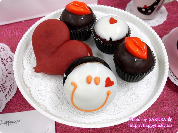 チャプチーノのウーピーパイやカップケーキはバレンタインに人気