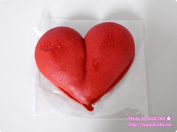 チャプチーノ バレンタイン限定 ハート型ウーピーパイ「ラブベリーチョコレート」 全体
