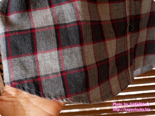 レプシィムローリーズファーム 福袋2016 中身ネタバレ チェックシャツ 生地アップ
