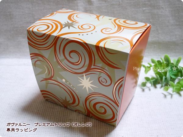 ガヴァルニー プレミアムトリュフ(オレンジ) バレンタインチョコレート バレンタイン専用パッケージ