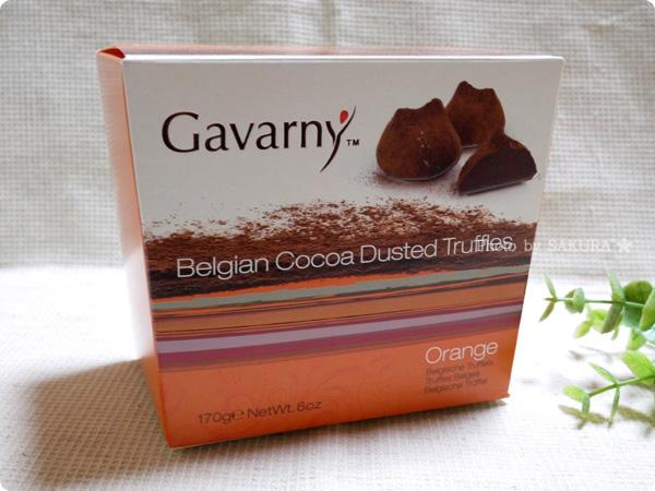 ガヴァルニー プレミアムトリュフ(オレンジ) バレンタインチョコレート 通常パッケージ