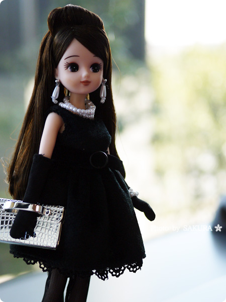 タカラトミー 大人向けリカちゃん 第3弾 リカ スタイリッシュドールコレクション 「ブラックショコラドレス スタイル」