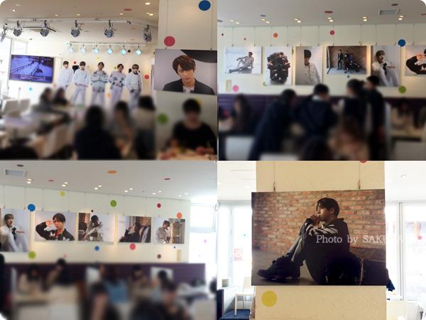 スイーツパラダイスSoLaDo原宿店 韓国の人気グループB1A4コラボ店内