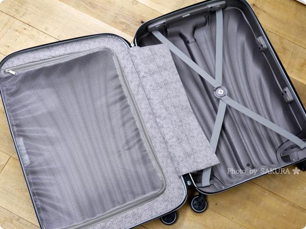 DMM.comスーツケースレンタルはSamsonite(サムソナイト) スーツケースオープン