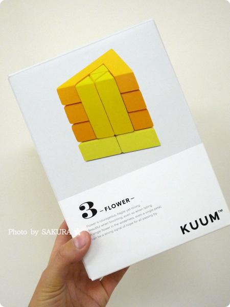 FELISSIMO フェリシモ「あたらしい「組む」つみき KUUM【クーム】(12回予約)」FLWER パッケージ