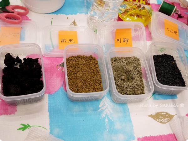 VELTRAベルトラのアクティビティ「季節の苔玉づくり体験」苔玉で使用されている土