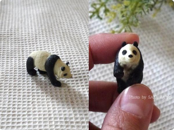 フランフランで買ったミニチュアのパンダ