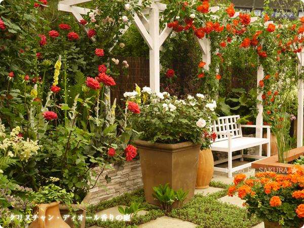 国際バラとガーデニングショウ2016 クリスチャン・ディオール香りの庭