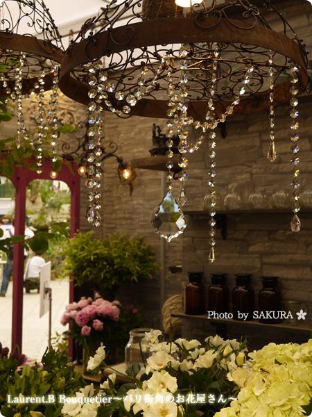 国際バラとガーデニングショウ2016 Laurent.B Bouquetier(ローラン ベー ブーケティエ)~パリ街角のお花屋さん~ その1