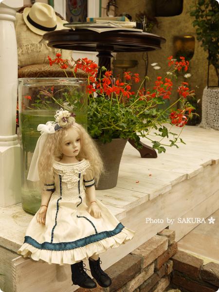国際バラとガーデニングショウ2016 Hideout du cap~ある、紳士の想いでに ドールのいる庭