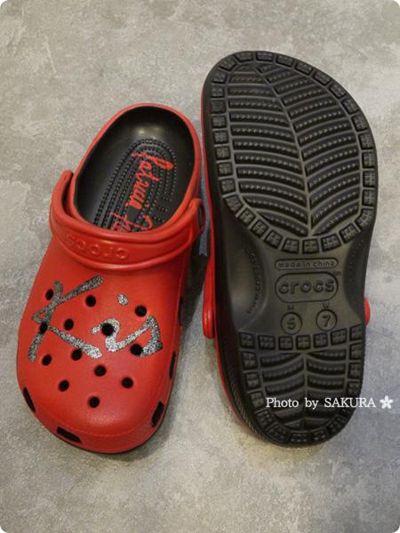 パトリシア・フィールド×クロックスコラボ classic kisses clog クラシック キッス クロッグ 靴底